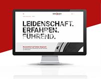KIRCHHOFF / Webdesign