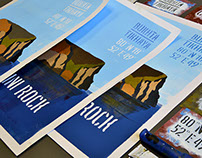 Rubini Rock handmade posters