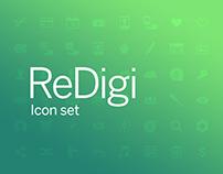 Icon set ReDigi