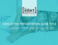PowerPoint Presentation Template for Insurance Company