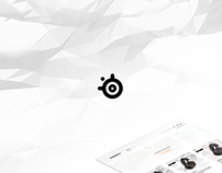 SteelSeries Web Design