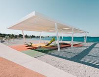 Brodarica beach