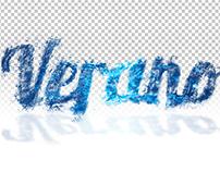 Tipografía texturizada