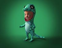 Gecko boy