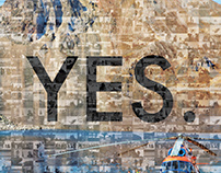 Mosaic Poster #yesonlife