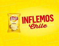 Lay's Inflemos Chile