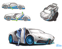 Bugatti Door Concept