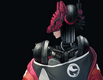 Cyberpunk Character Concept