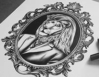 Portrait of Lionman