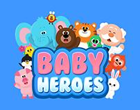 Baby Heroes Character Branding