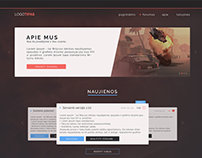 Web interface for gaming site | vol. I