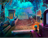 Locations for ho game Chimeras 9: Wailing Waters