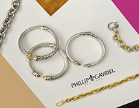 Campaign and Social Media Images for Phillip Gavriel