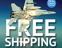 Free Shipping Email Newsletter