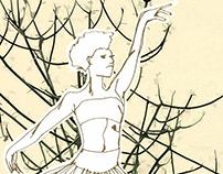 Michaela DePrince expressive ballerina
