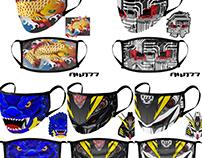 AW177 Threadless Artist Shop Face Masks