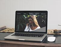 First Website Design: Visual Communications Module