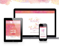 Kristy weds Kalyan~Website Design