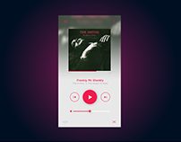 Daily UI Challenge 009: Music Player