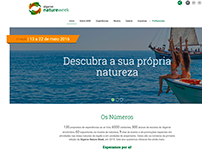 Algarve Nature Week | Proposta de re-design
