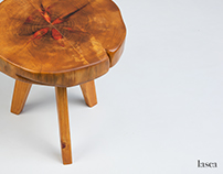 Mesinha lateral Orquídea - Orchid side table