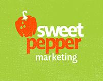 Logo concept for Sweet Pepper Marketing