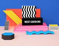 West Carolina - brand launch and pop-up promo