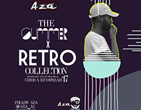 AZA SUMMER x RETRO SHOOT COLLECTION 2017