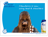 Chewbacca Head & Shoulders