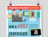 Highline College Student Survey Poster