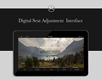 Mercedes Benz Seat Adjustment Interface