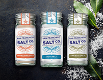 Purveyors of Sea Salt Packaging - San Francisco Salt Co