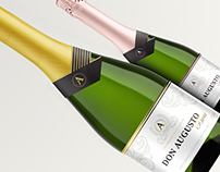 Espumante Don Augusto / Sparkling Wine Packaging Design