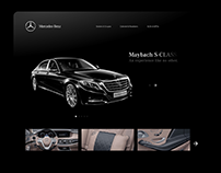 Mercedes Website UI/UX Re-design