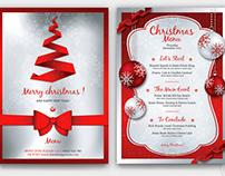 Christmas Menu Template V4
