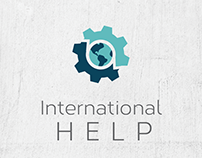 International HELP Logo & Web Design
