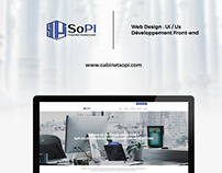 Web Design & development - Cabinet Sopi