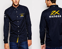 Corporate Clothing, Souvenirs for EXNESS