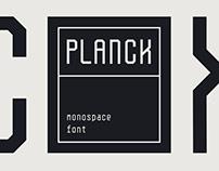 Planck - Free font