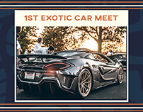 1st Exotic Car Meet