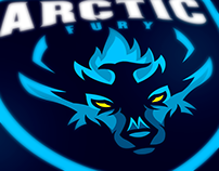 Arctic Fury Esport Logo