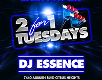 Rockys 7440 Club 2 For 1 Tuesday
