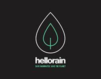 Hello Rain - Logo #1
