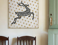 Christmas Art Collection on Great BIG Canvas