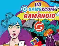 """Дизайн кейса для конкурса """"На Gamescom с Gamanoid"""""""