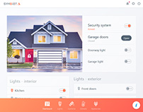 SYMBIOT Delta - IoT / Smart Home - Bootstrap 4 theme