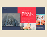 Modern Homes Website