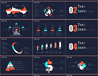Best Infographic report PowerPoint template