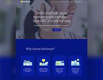 Web Design // Virtual Assistant Hiring Firm Website