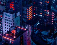 Above Tokyo